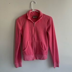 Pink Juicy Couture Track Jacket